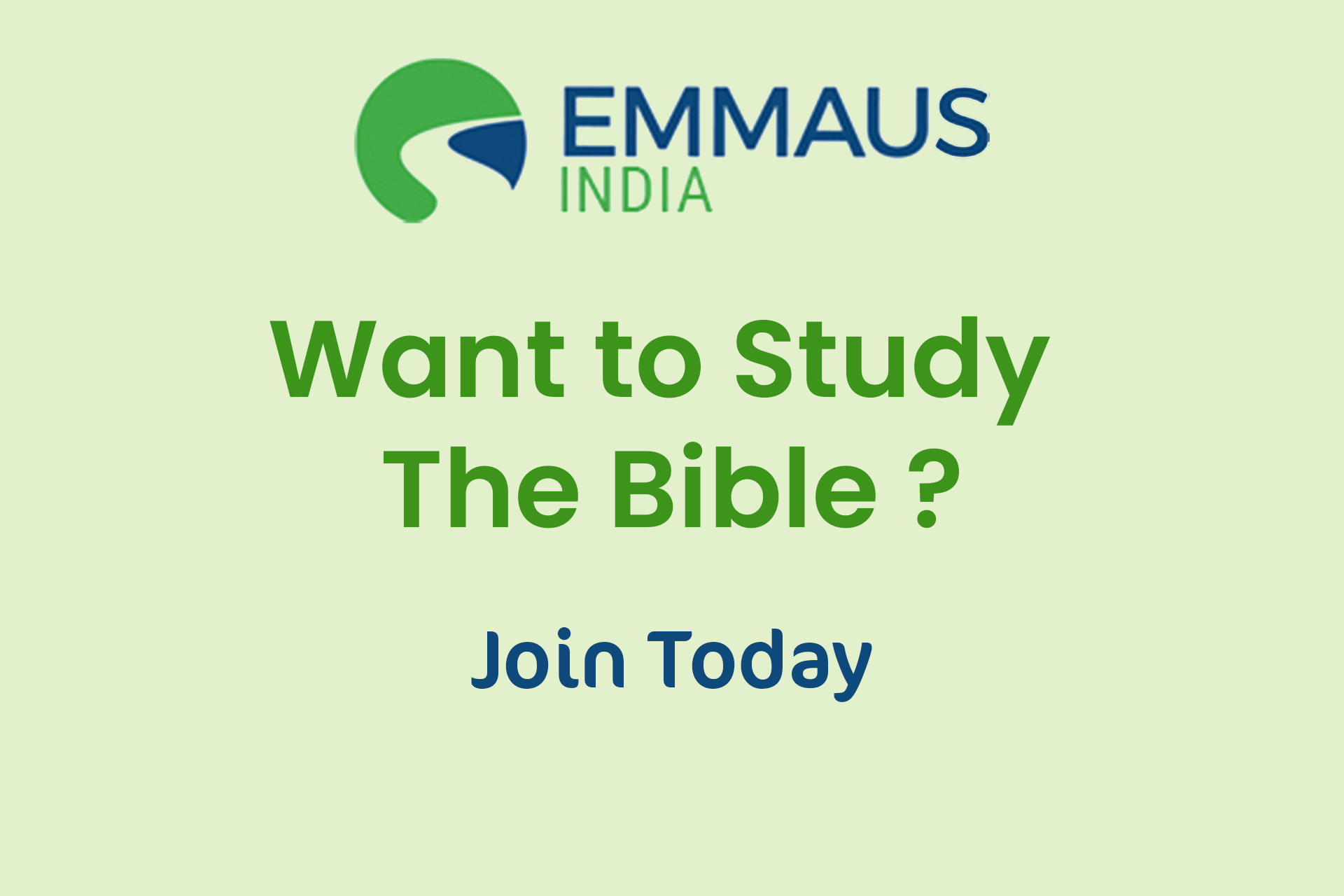 Emmaus Study